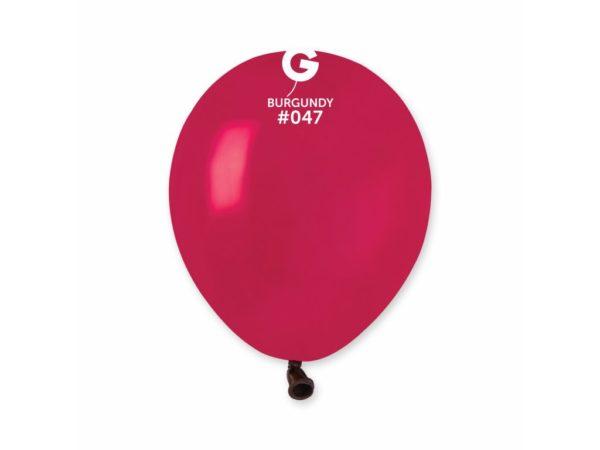 Gemar Balónek pastelový bordový 13 cm