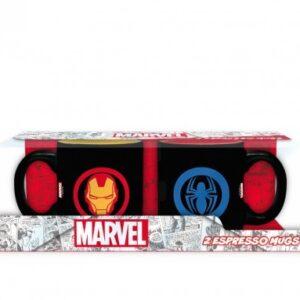 ABY style Sada hrnků Iron Man a Spiderman - Marvel