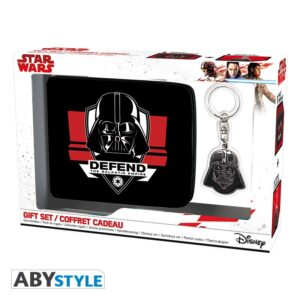 ABY style Sada peněženka a klíčenka Darh Vader - Star Wars