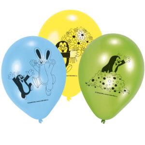 Amscan 6 latexových balónů - Krtek