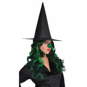 Amscan Čarodějnický zelený nos