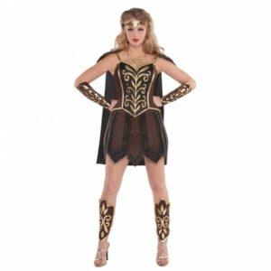 Amscan Dámský kostým - Bojovnice Xena Velikost - dospělý: L