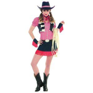 Amscan Dámský kostým - Divoká kovbojka Velikost - dospělý: M