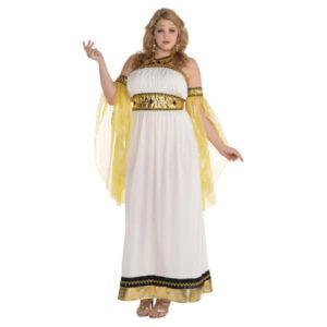 Amscan Dámský kostým - Nádherná Bohyně Velikost - dospělý: L