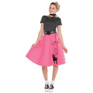 Amscan Dámský kostým - Pin up dívka 50. roky Velikost - dospělý: L