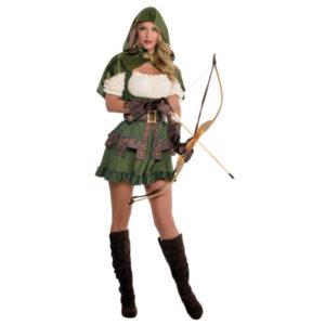 Amscan Dámský kostým Robin Hood Velikost - dospělý: L