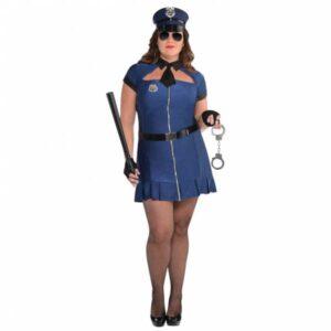 Amscan Dámský kostým - Sexy policistka (PLUS)