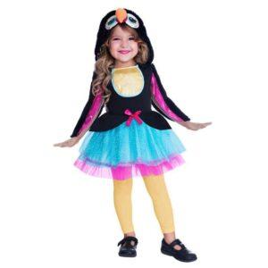 Amscan Dětský kostým - Roztomilý tukan Velikost - děti: S/M