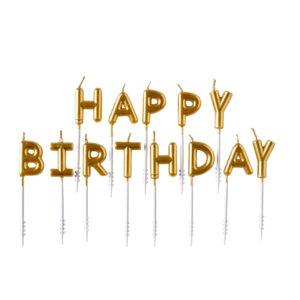 Amscan Dortové svíčky Happy Birthday