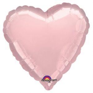 Amscan Fóliový balón Srdce růžové