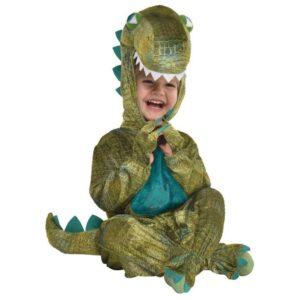 Amscan Kostým pro nejmenší - Dinosaurus Velikost nejmenší: 12 - 24 měsíců
