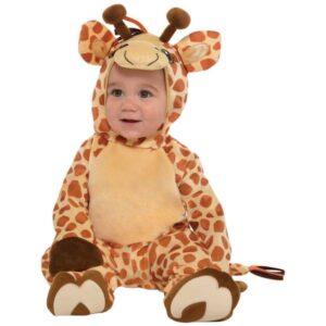 Amscan Kostým pro nejmenší - Malá žirafa Velikost nejmenší: 6 - 12 měsíců