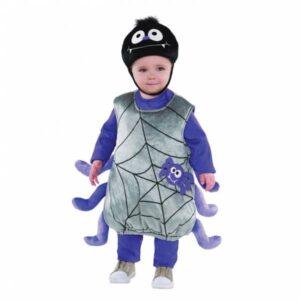 Amscan Kostým pro nejmenší - Pavouk Itsy Bitsy Velikost nejmenší: 12 - 24 měsíců