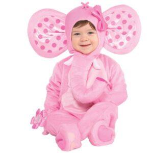 Amscan Kostým pro nejmenší - Sladký sloník Velikost nejmenší: 12 - 24 měsíců