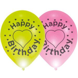 Amscan LED balónek Happy Birthday 1 ks