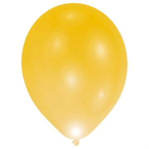 Amscan LED balónek zlatý 5 ks
