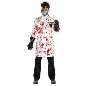 Amscan Pánský kostým - Šílený zubař Velikost - dospělý: PLUS