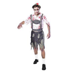 Amscan Pánský kostým - Zombie Bavorský muž (Oktoberfest) Velikost - dospělý: PLUS
