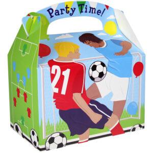 Amscan Papírový párty box - futbal