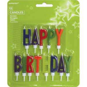 Amscan Svíčky Happy Birthday - písmena