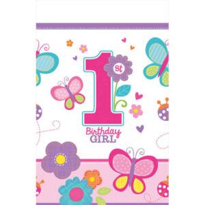 Amscan Ubrus Sladké narozeniny - dívka