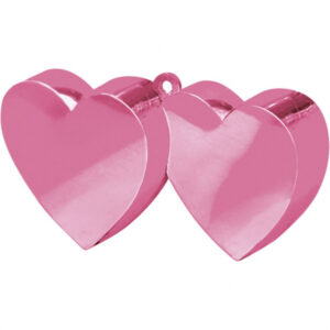 Amscan Závaží na balóny Srdce růžové