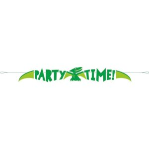BANNER Dino Party time 1