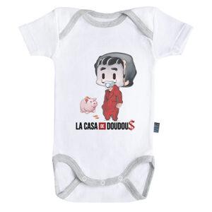 Baby-Geek Dětské body - La casa de Papel Velikost nejmenší: 12-18 měsíců