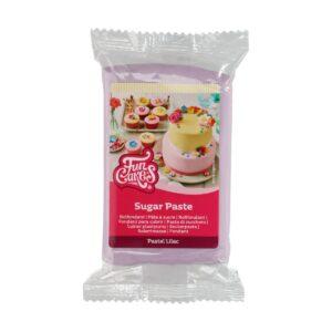CakeSupplies Pastelově fialový rolovaný fondán Pastel Lilac (barevný fondán) 250 g