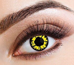 Eyecasions Čočky Explosion Yellow