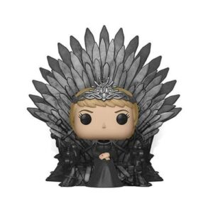 Figurka Funko POP Deluxe: Game of Thrones S10 - Cersei Lannister Sitting on Iron Throne