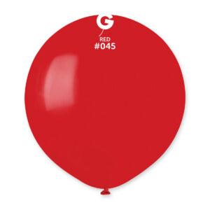 Gemar Balón pastelový červený 48 cm