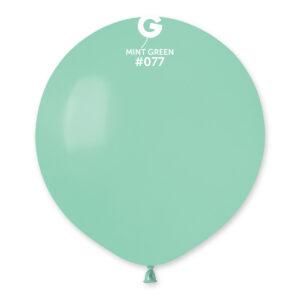 Gemar Balón pastelový mátově-zelený 48 cm