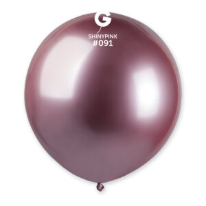 Gemar Balónek chromový růžový 48 cm