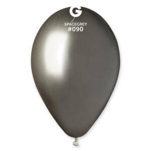 Gemar Balónek chromový šedý 33 cm