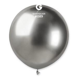 Gemar Balónek chromový stříbrný 48 cm