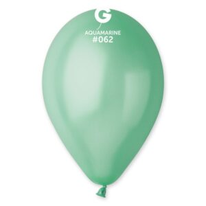 Gemar Balónek metalický Aquamarin 26 cm