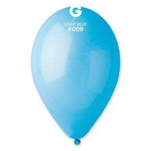 Gemar Balónek pastelový baby modrý 26 cm