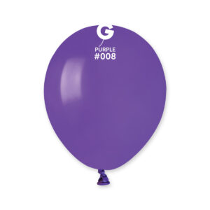Gemar Balónek pastelový fialový 13 cm