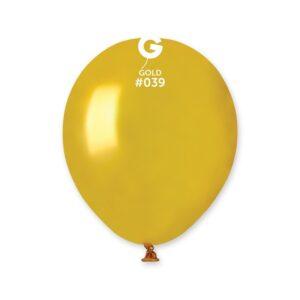 Gemar Balónik metalický zlatý 13 cm