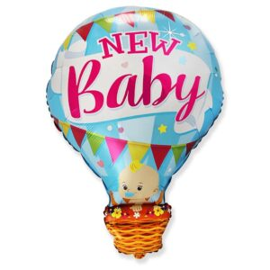 Godan Fóliový balón - New baby modrý 60 cm
