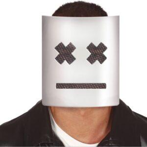 Guirca Bílá maska s křížky