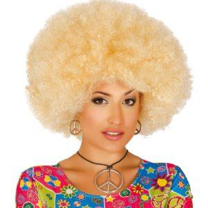 Guirca Blond afro paruka