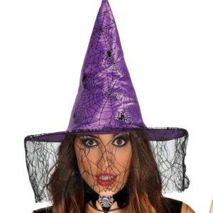 Guirca Čarodějnický klobouk fialový
