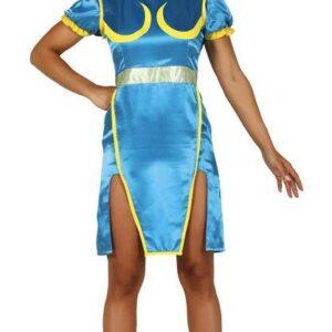 Guirca Dámský kostým - Chun-Li (Street Fighter) Velikost - dospělý: M