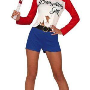 Guirca Dámský kostým - Harley Quinn Velikost - dospělý: L
