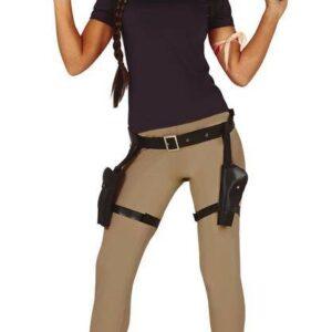Guirca Dámský kostým - Lara Croft Velikost - dospělý: L