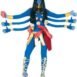 Guirca Dámsky kostým - Modrá Bohyně Velikost - dospělý: L