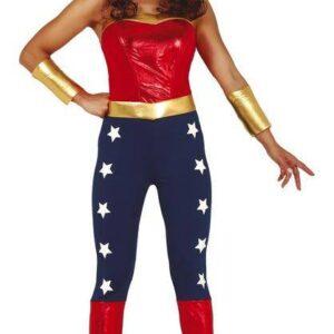 Guirca Dámský kostým - Wonder Woman Velikost - dospělý: S