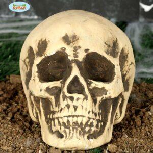 Guirca Dekorace - Lebka z pěny